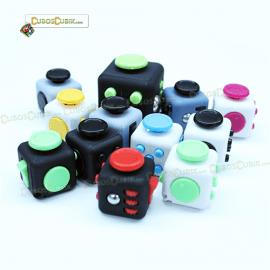 Cubo Anti Estrés Mini Fidget Cube Varios Colores