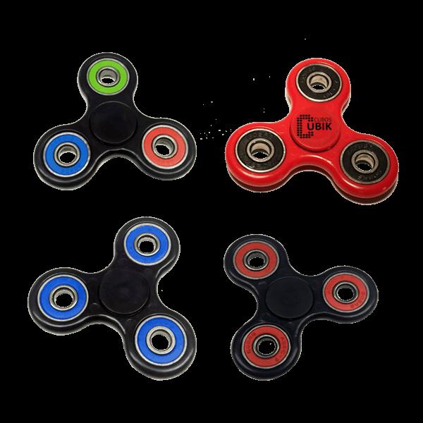 Promoción Fidget Spinner 4x3 Varios Colores