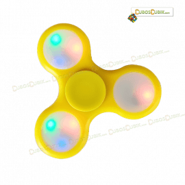 Fidget Spinner Luces Led Varios Colores
