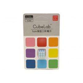 Cubos Rubik Cube Lab Mini 3x3 1 cm Azul