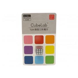 Cubos Rubik Cube Lab Mini 3x3 1 cm Negro