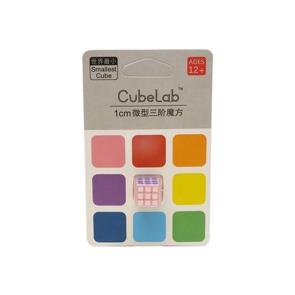 Cubos Rubik Cube Lab Mini 3x3 1 cm Rosa