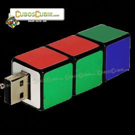 Memoria USB Cubo Rubik 8gb