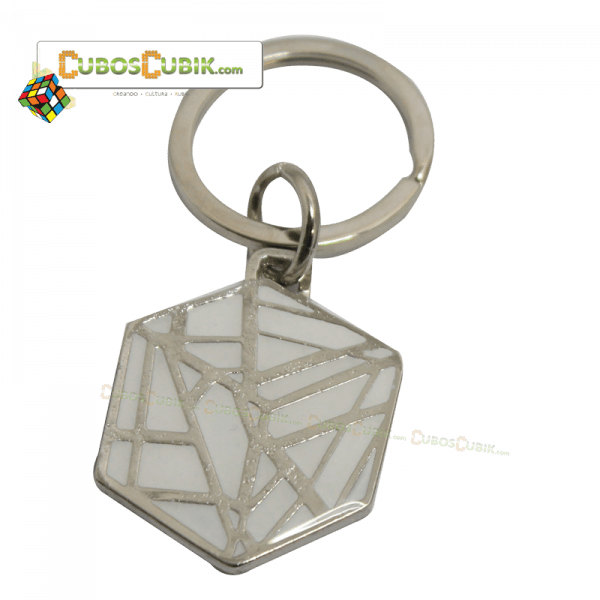 Cubos Rubik Llavero Ghost Blanco Cubos Cubik