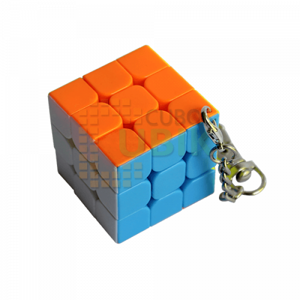 Cubos Rubik Llavero 3x3 Colored