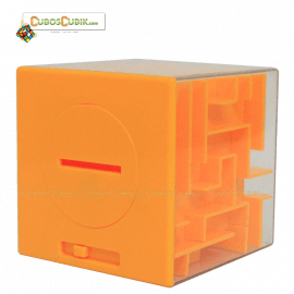 Cubos Rubik Maze Money Alcancía en Cubo Base Amarillo