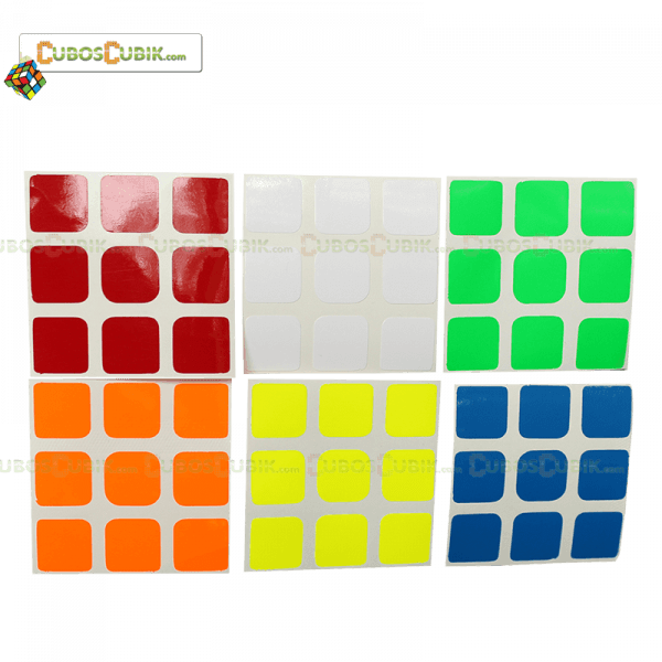 Set de Stickers 3x3 Medida Estándar