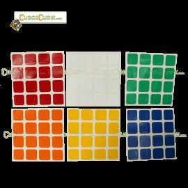 Set de Stickers 4x4 Estandar