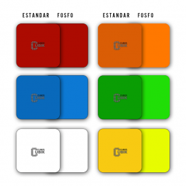Set de Stickers 3x3 Semi Full Colores Fosfo