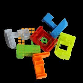 Cubos Rubik Llavero Rompecabezas 3D