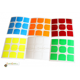 Set de Stickers 3x3 Weilong GTS Colores Fosfo