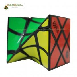 Cubos Rubik Calvin's Eitan´s Fisher Twist 3x3 Negro