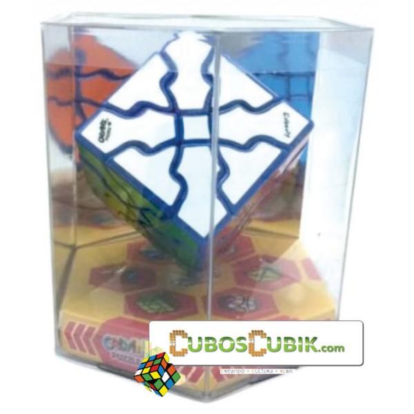 Cubos Rubik Calvin's Curvy Dino Azul