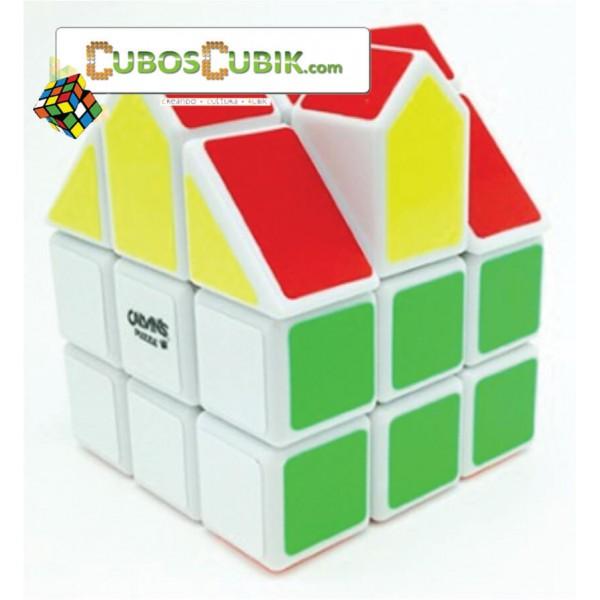 Cubos Rubik Calvin's House Casita 3x3 Blanco