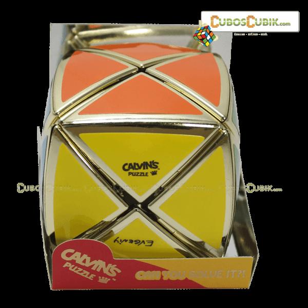 Cubos Rubik Calvin's Dino Satinado Dorado