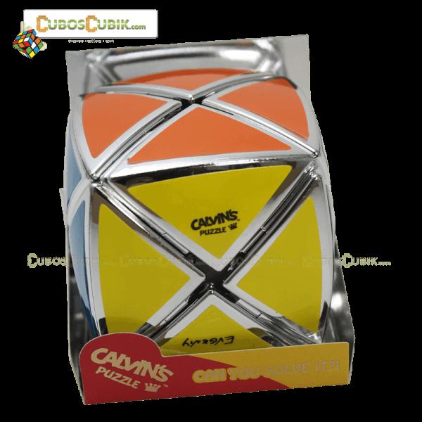 Cubos Rubik Calvin's Dino Satinado Plata