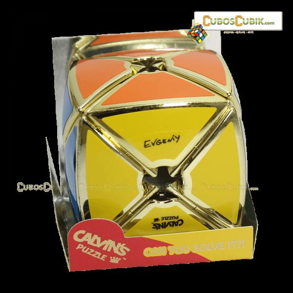 Cubos Rubik Calvin's Dino Void Satinado Dorado