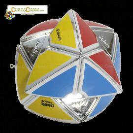 Cubos Rubik Calvin's Dino Void Satinado Plata