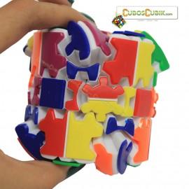 Cubos Rubik Gear Barrel Blanco Mefferts