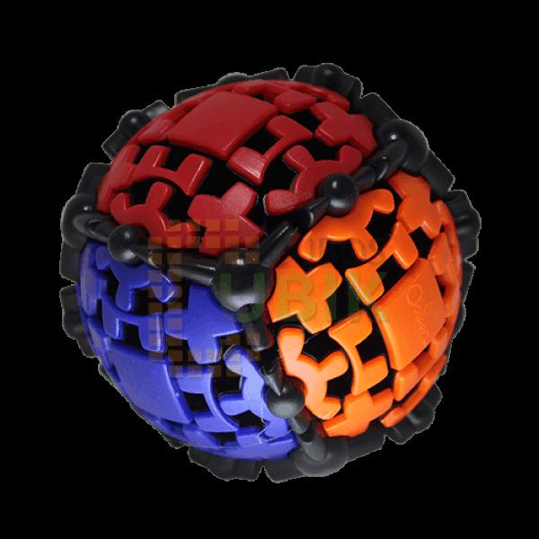 Cubos Rubik Mefferts Gear Ball 3x3 Negro
