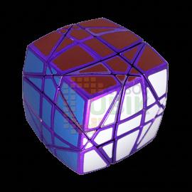 Cubos Rubik Calvin's Pillow Hexaminx Metálico Morado