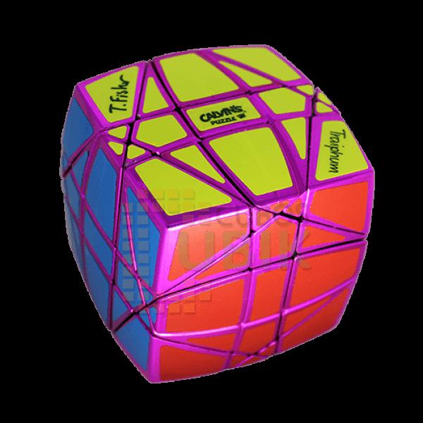 Cubos Rubik Calvin's Pillow Hexaminx Metálico Rosa