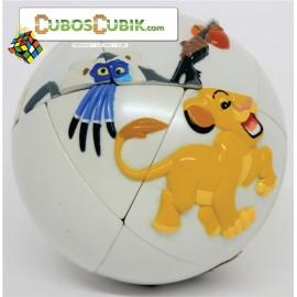 Cubos Rubik Skewb Ball Rey Leon Calvins