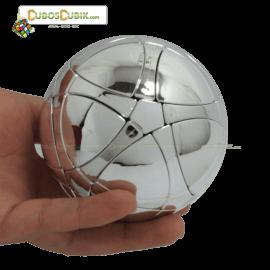 Cubos Rubik MegaMinx Ball Satinado Plata Calvins