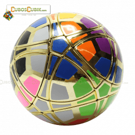 Cubos Rubik MegaMinx Ball Satinado Dorado Calvins