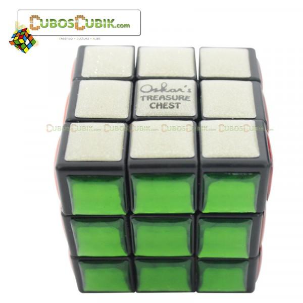 Cubos Rubik Mefferts Oskar's Treasure 3x3 Blanco