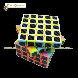 Cubos Rubik 5x5 Edición Cubik Cobra Pink Macaron