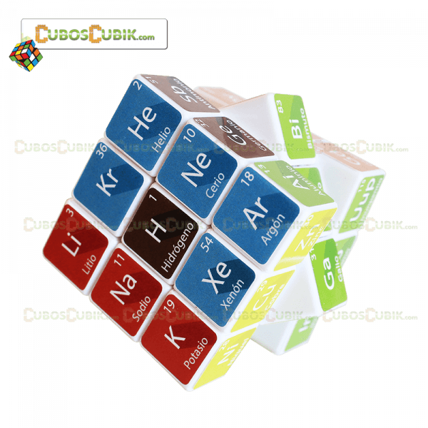 Cubos Rubik 3x3 Tabla Periódica Cubik