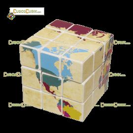 Cubos Rubik 3x3 Mapa