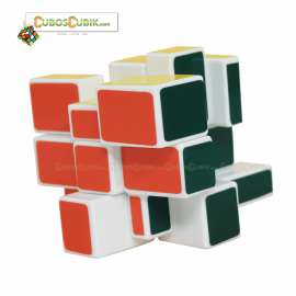 Cubos Rubik Cubik Mirror Camaleon Blanco