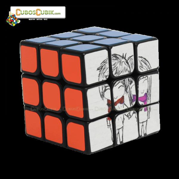 Cubos Rubik 3x3 Personalizado 1 Cara