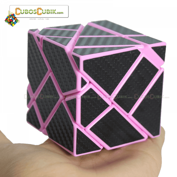 Cubos Rubik FangCun Ghost Cobra Base Rosa