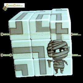 Cubo Rubik Edicion Cubik Monster Momia (2017)