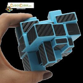 Cubos Rubik Yuxin Mirror Cobra 3x3 Base Azul