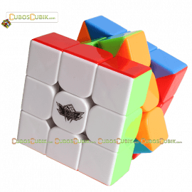 Cubos Rubik Cyclone Boys 3x3 Feichi Colored