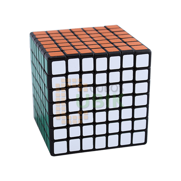 Cubos Rubik ShengShou 7x7 LingLong 69mm Base Negra