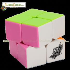 Cubos Rubik Cyclone Boys 2x2 Colored Pink