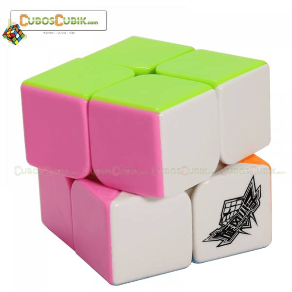 Cubos Rubik Cyclone Boys 2x2 Colored Pink