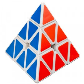 Cubos Rubik Cyclone Boys Pyraminx Base Blanco