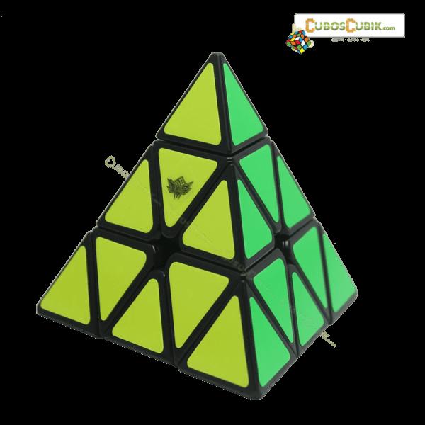 Cubos Rubik Cyclone Boys Pyraminx Base Negra