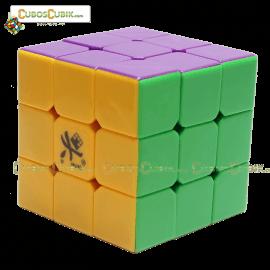 Cubos Rubik Dayan Zhanchi V5 3x3 Edición Negro Colored Con Morado