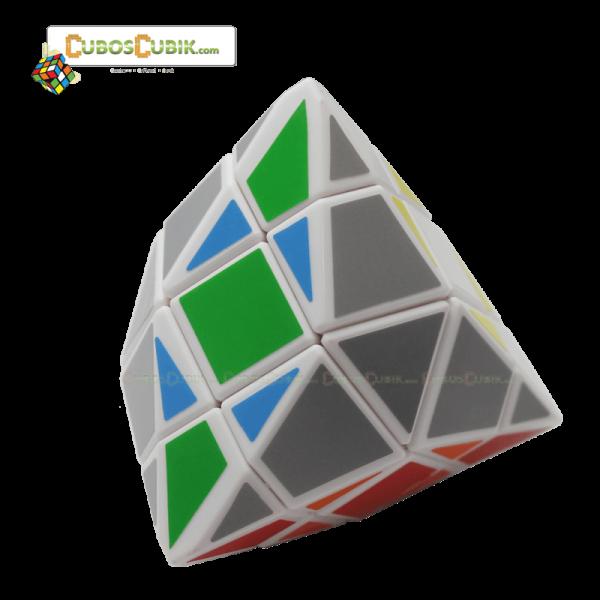 Cubos Rubik DiangSheng Tetra Pyraminx 3x3 Base Blanca