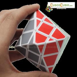 Cubos Rubik DiangSheng Hexagonal Pyraminx 3x3 Base Blanca