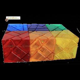 Cubos Rubik FangCun Ghost Trasparente