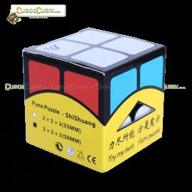 Cubos Rubik Fangshi Shuang 2X2 Base Negra