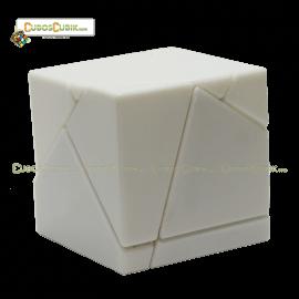 Cubos Rubik Fangshi Lim 2x2 Ghost Base Blanca